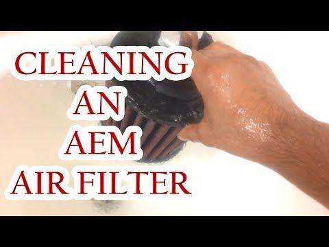 How To Clean an AEM Dryflow Air Filter