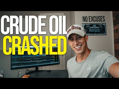 WHY DID CRUDE OIL CRASH TODAY?