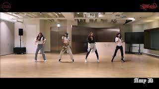 SEULGI X SinB X Chung Ha X SOYEON 'Wow Thing' Mirrored Dance Practice