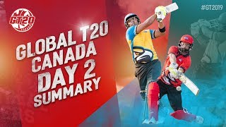 Global T20 Canada Day 2 Summary | Tigers vs Winnipeg Hawks | Match 2 Highlights | GT20 Canada 2019