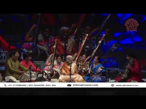 Girija Devi | Thumri | Indian Classical Singer |  Performance at The Legends 2017 | Part 01