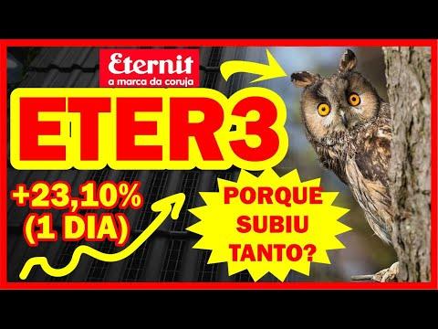 🔴(+23,10%) Eternit (ETER3) SUBIU, Porque??? (Vale a Pena??)