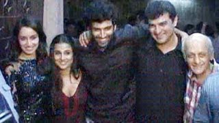 Aashiqui 2 special screening- Aditya Roy Kapur, Shraddha Kapoor & Vidya Balan