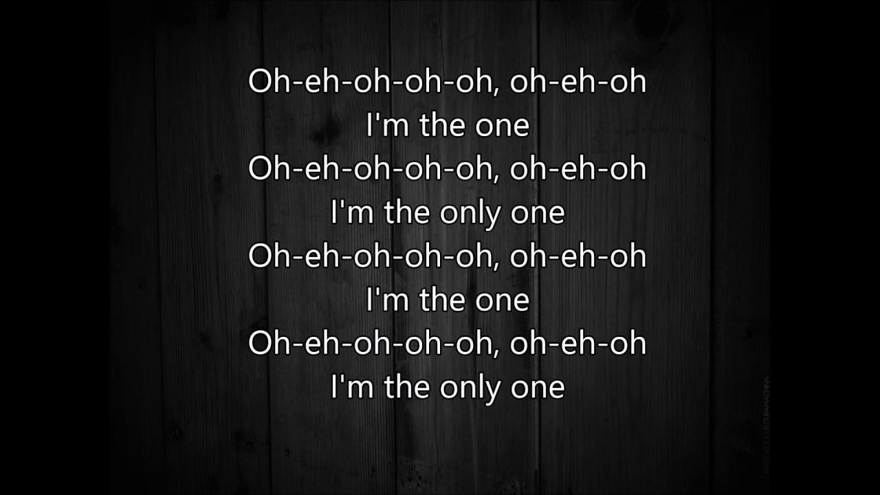 Tell me im the only one lyrics