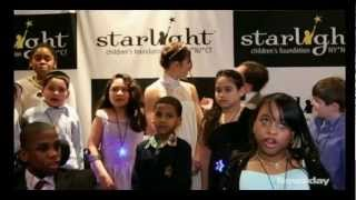 Carly Rose Sonenclar Interview at 28th Annual Starlight Gala (3-14-13)