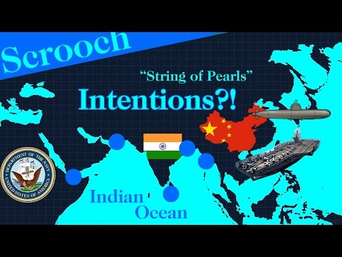 What are China's intentions on Indian Ocean : String of Pear