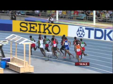Mo Farah takes gold in the Men's 5,000m Final