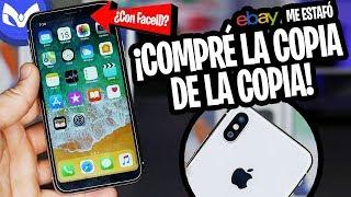 COMPRE iPhone X CLON Y ME MANDARON EL CLON DEL CLON :/