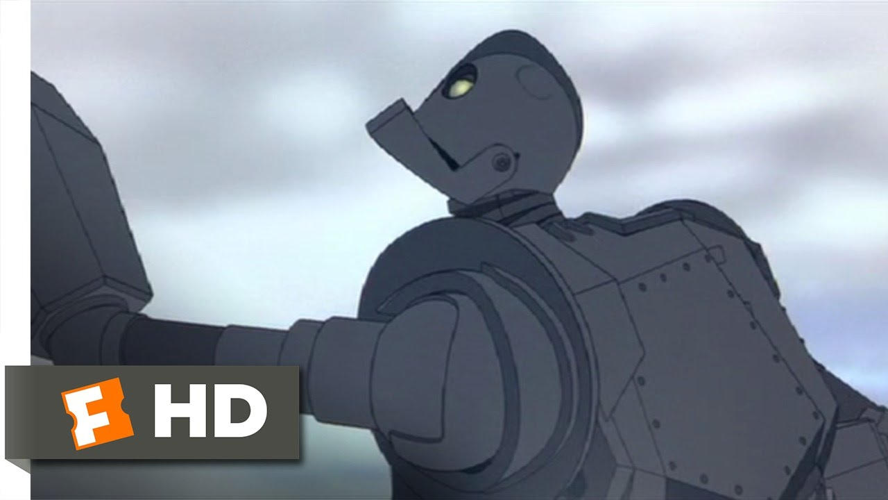The Iron Giant 810 Movie CLIP You Can Fly 1999 HD
