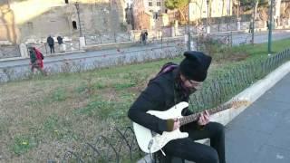 Уличные музыканты Рима