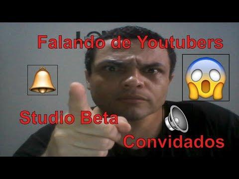 #falandodeyoutubers 🔴Novo Studio Beta, Com divulgação Ao Vivo e Convidados help Tutor