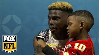 Tyreek Hill says he knew Patrick Mahomes was 'going to be special' | FULL PRESS CONFERENCE | FOX NFL