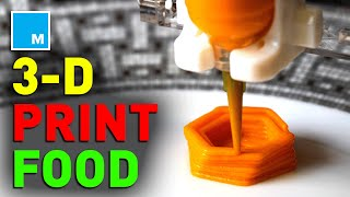 3D Printing Food and Cooking It With Lasers