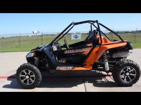 2014 Arctic Cat  Wildcat 1000 EPS Orange Metallic
