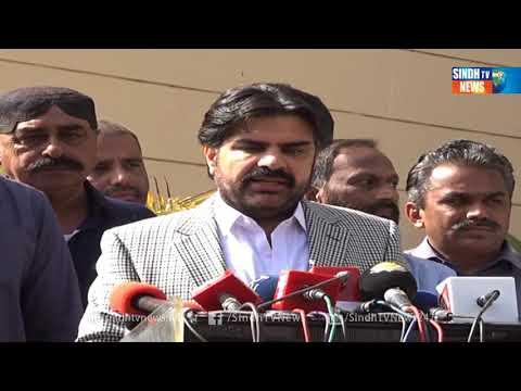 NASIR SHAH SOTS  - Package - Sindh TV News