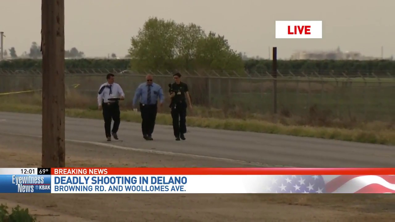 Man Killed In Car To Car Shooting On Southern Outskirts Of Delano Youtube
