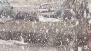 Благовещенский снегопад 7.04.13