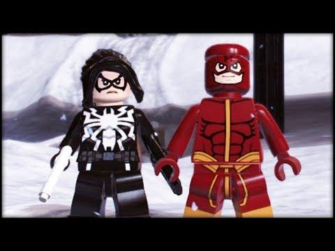 LEGO Marvel Superheroes 2 Creating The Flash & Black Widow! Customs!