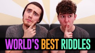 One of MyNamesChai's most viewed videos: Friends Try To Solve The Hardest Riddles (with PointlessBlog)