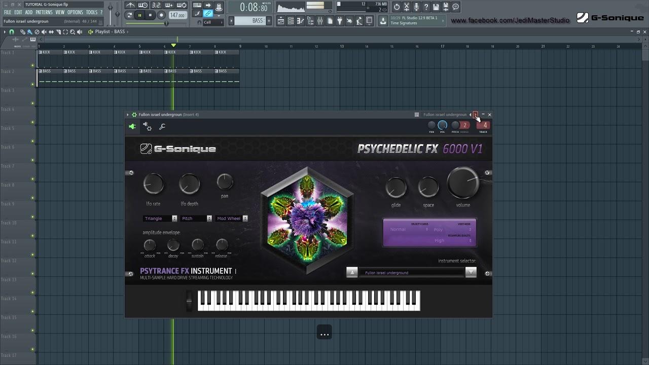 Psychedelic FX 6000 V1 Psytrance Hitech Proggy Darkpsy