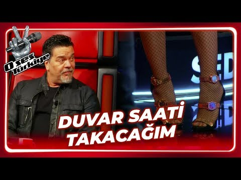 Seda Sayan'ın Olay Yaratan Ayakkabısı   O Ses Türkiye 10. Bölüm