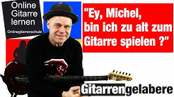 Zu alt um Gitarre spielen zu lernen - Das beste Alter - Wie alt muss ich sein