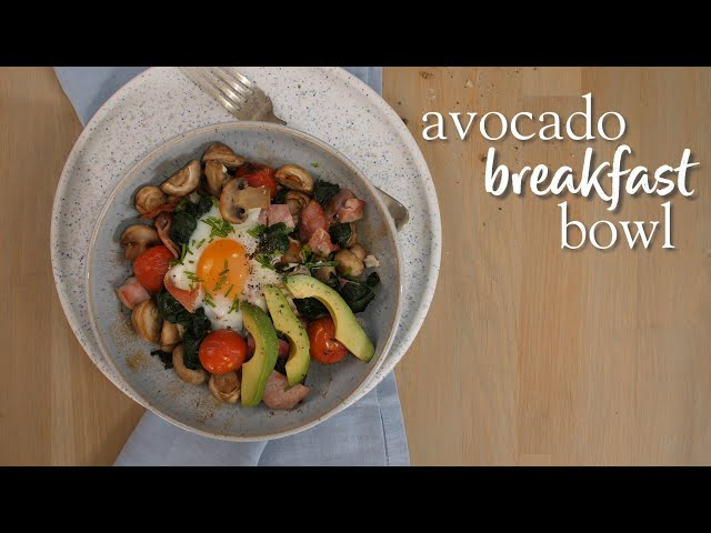 Slimming World avocado breakfast bowl recipe - 3 ½  Syns per serving