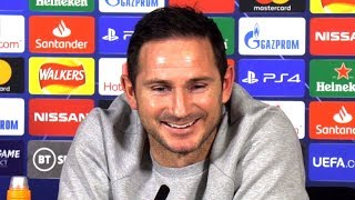 Frank Lampard FULL Pre-Match Press Conference - Chelsea v Lille - Champions League