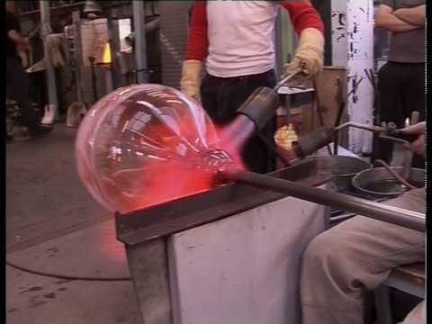 Blowing Big Glass Bowls (Part 2)