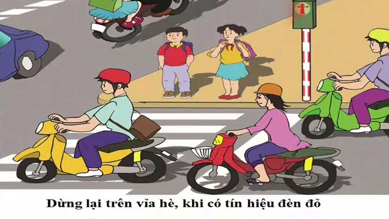 An toàn giao thông, dành cho học sinh khối lớp 1 |Traffic safety education| hdt kids channel
