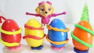 ЩЕНЯЧИЙ ПАТРУЛЬ Учим цвета для самых маленьких Развивающие мультики Видео для детей Сюрпризы