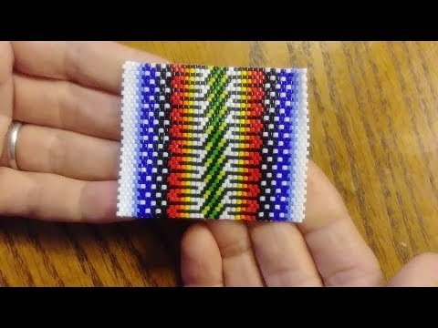 Peyote Bead Stitch with Delica Beads