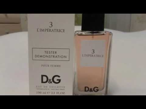 Духи Dolce Gabbana D&G Anthology L Imperatrice 3 (Дольче Габбана Императрица 3)