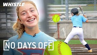 12-Year-Old DOMINANT Softball Star CRUSHES Home Runs!