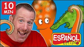Juguetes Divertidos + MÁS | Historias para niños | Aprende Español Latino con Steve and Maggie