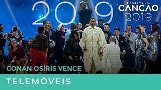 Conan Osiris é o vencedor do Festival da Canção 2019