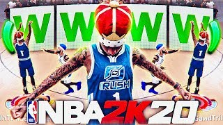 I Won the Rush 1v1 Event in 10 Minutes...My Quickest Rush 1v1 Speed Run! Best Jumpshot in NBA 2K20!
