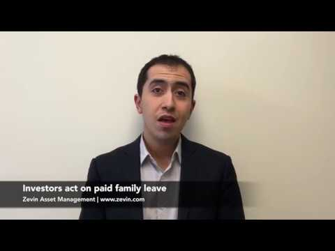 Investors act on paid family leave