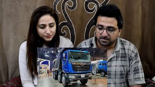 Pakistani React to TATA Prima Mining Truck Auto Expo 2020 Commercial Vehicle | Exterior and Interior