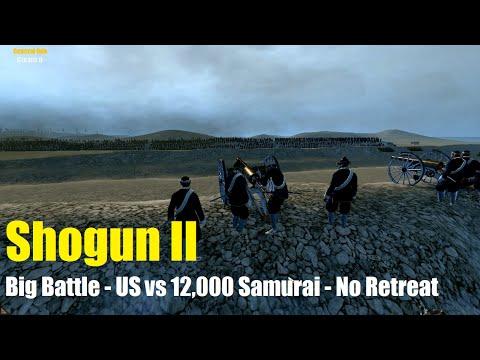 Shogun 2 Big Battle Fort Wagner 4,400 US Marines vs 12,000 Samurai