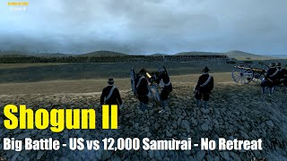 A large custom battle featuring a small US Marines force camped out...