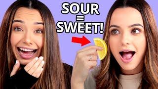 This pill CHANGES how you taste (Miracle Berry Taste Test) w/ The Merrell Twins