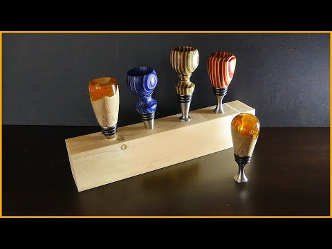 Making Bottle Stoppers