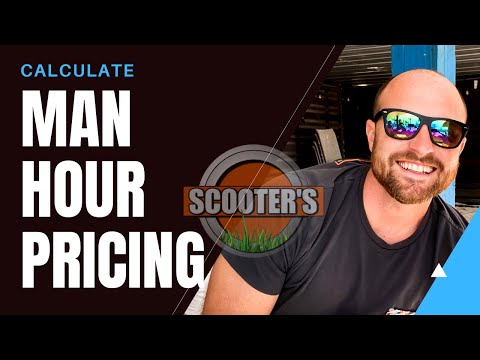 How To Calculate Per Man Hour Pricing | Landscaping Business