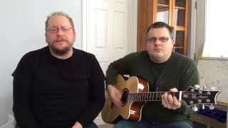 Jeff Bridi & Nick Bohensky 'Don't Believe a Word' acoustic (Thin Lizzy Cover)