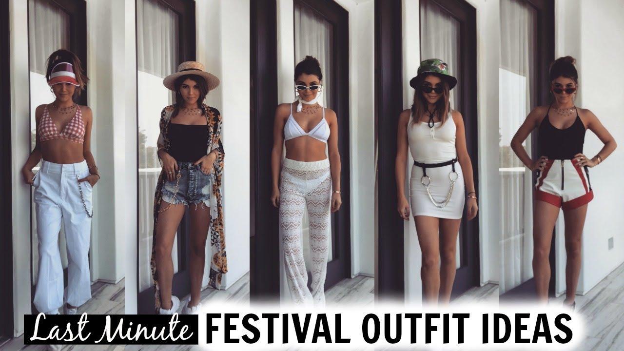 Last Minute Festival Outfit Ideas 2018 L Olivia Jade Youtube
