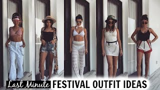 LAST MINUTE FESTIVAL OUTFIT IDEAS 2018 l Olivia Jade