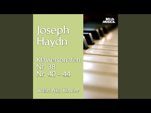 Klaviersonate No. 38 in F Major, Hob. XVI: II. Adagio