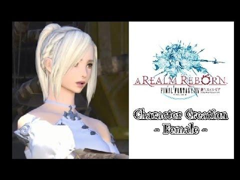 【PS4】 FINAL FANTASY XIV Character Creation -female-