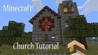 minecraft church build